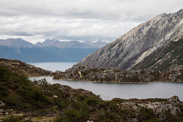 Lagunas Mariposa, Tierra del Fuego, Argentina