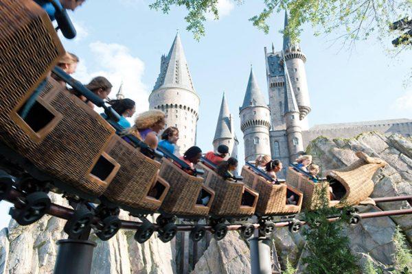 Montaña Rusa de Harry Potter